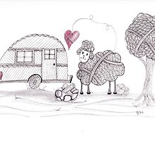 Ewe Love Camping by Christianne Gerstner
