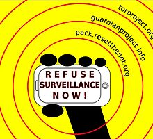 Refuse surveillance now by Rhona Mahony