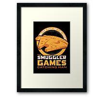 The Smuggler Games Framed Print