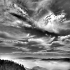 High cloud above Ovens Valley by Kevin McGennan