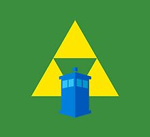 TARDIS Triforce! (Green) by Zekrom9