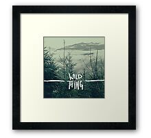 Wild Thing Framed Print