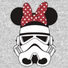 Storm trooper with Minnie ears by sweetsisters