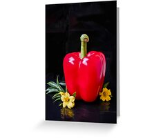 Pepper In the Spotlight  Greeting Card