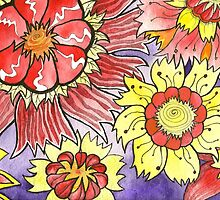 Floral Design 1 by Rootedbeauty