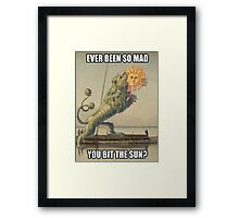 So mad! This Mad! Framed Print