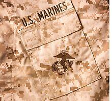 USMC Camo by George Robinson
