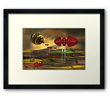 Transform those nightmares into beautiful imagery, and sleep well Framed Print