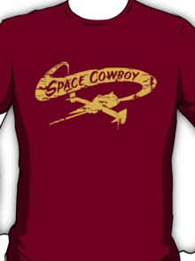 Space Cowboy - Distressed Yellow T-Shirt