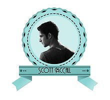 Scott McCall - Badge oval.  by paigeherd