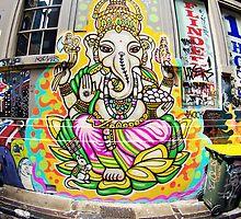 Ganesh - Melbourne Laneways by Kate Mularczyk