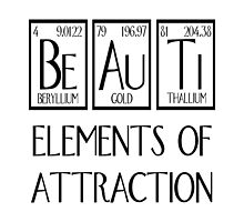 Beauti Elements Of Attraction by raineOn