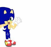 Sonic The Hedgehog  by CrystalButt
