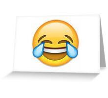 Laughing Emoji Greeting Card