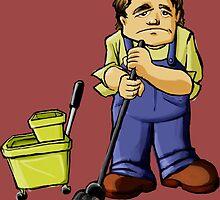 Janitor by fuglee
