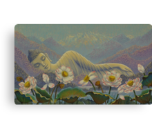 Ethereal Buddha Canvas Print