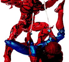 Carnage vs Spiderman by ludvis