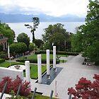 Olympic museum gardens by Elena Skvortsova
