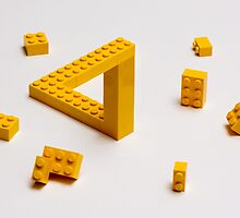 Lego puzzle by Kevin  Poulton - aka 'Sad Old Biker'