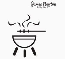 BBQ T-shirt - James Newton Apparel Kids Clothes