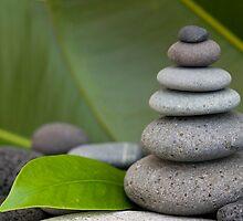 Stone cairn by artsandsoul
