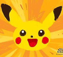 Pikachu Artwork (Pokemon Art Academy) by Joe Bolingbroke