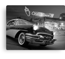 Cindy's Drive In Canvas Print