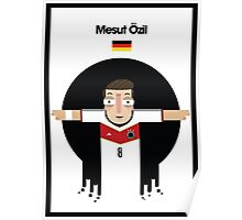 Mesut Ozil - Germany Poster