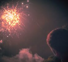Explosion in the sky - From Fiestas del Apóstol in Santiago de Compostela by Alexandra Vaughan Photography
