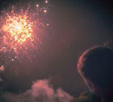 Explosion in the sky - From Fiestas del Apóstol in Santiago de Compostela by Alexandra Vaughan Photography & Design