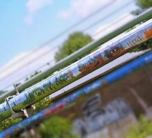 Graffiti on Pipe by rose-etiennette