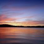 Sunset, Lake Sidney Lanier by Evelyn Laeschke