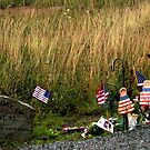 Flight 93 Early Memorial by Loree McComb
