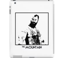 The Mountain Inspired Artwork 'Game of Thrones' iPad Case/Skin