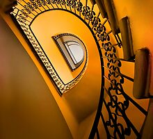 Golden staircase by JBlaminsky