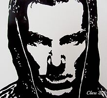 Khan/ Benedict Cumberbatch by Clare Shailes