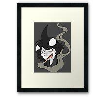 Shark Bully Framed Print