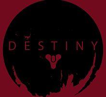 Destiny - Black Logo by AronGilli by AronGilli