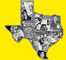 The Heart of Texas - WCCW (World Class Championship Wrestling) / B&W Version by HistoryOfWWE