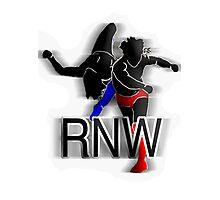Rant N' Wrestling Logo Photographic Print
