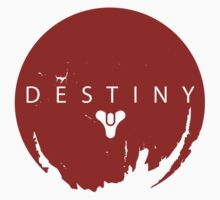 Destiny - Red Logo by AronGilli Kids Clothes