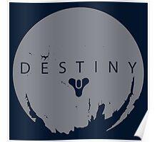 Destiny - Grey Logo by AronGilli Poster
