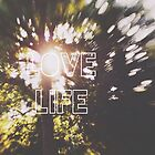 Love Life starburst bokeh by Indea Vanmerllin