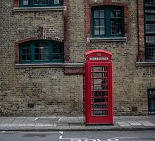Telephone Booth, London by CassidyShrope