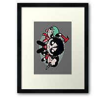 Cute Vengeance Framed Print