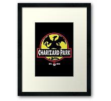 Charizard Park Framed Print