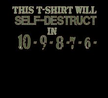 This TEE will self-destruct by VictoriaDarby