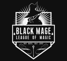 League of Magic: Black by machmigo