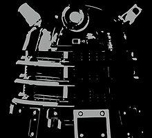 Dalek in the Dark by SpyderAcidburn