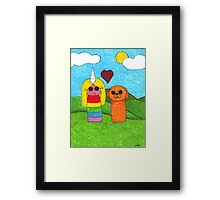 Jake and Lady Framed Print